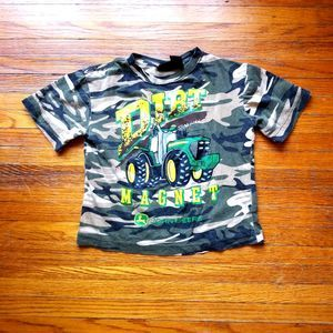John Deere Short Sleeve Graphic Tee Small 4